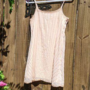 REPOSH: Blush Beaded Mini Dress  |  Forever 21